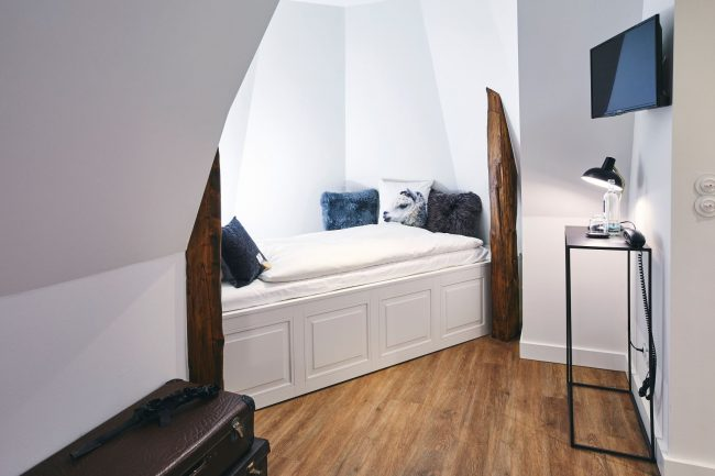 Small tower room